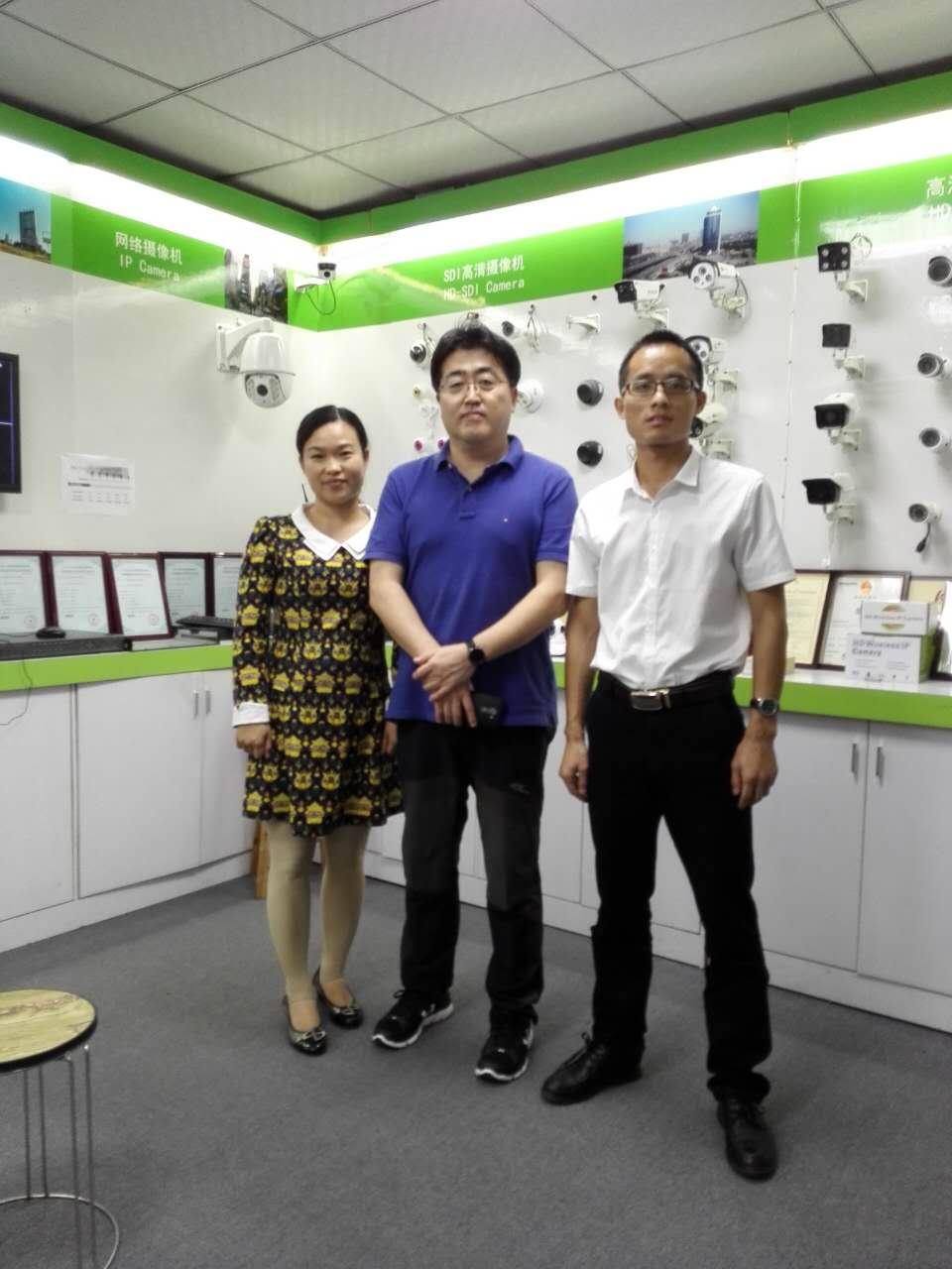 【韩国】无线WIFI摄像机厂家国兴达与韩国JONE合作愉快