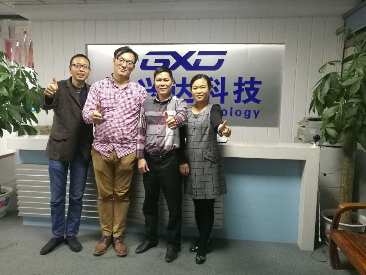 刘总成为国兴达科技慧星品牌的迪拜总代理【迪拜】